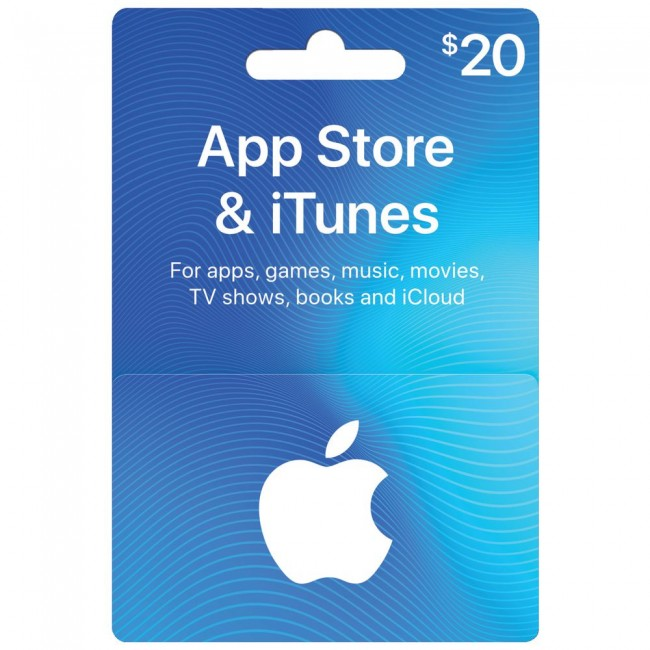 Apple iTune Gift Card $20