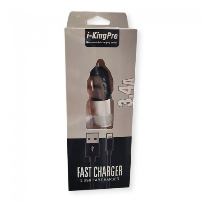 iKingPro 3.4 Amp Car Fast Charger