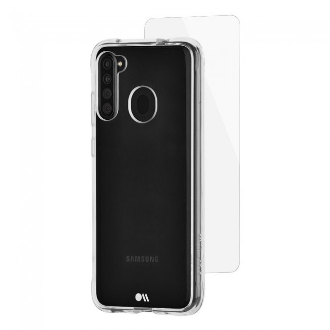 Case-Mate Protection Pack Clear Case for Samsung Galaxy A21