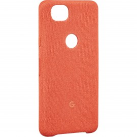 Google Fabric Case Coral For Pixel 2 XL