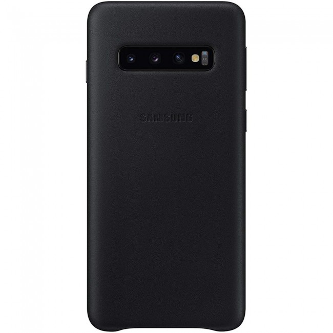 Samsung Leather Back Cover for Samsung Galaxy S10