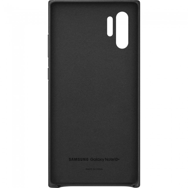 Samsung Galaxy Note 10 Plus Leather Cover-1
