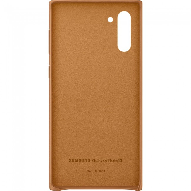 Samsung Galaxy Note 10 Leather Cover