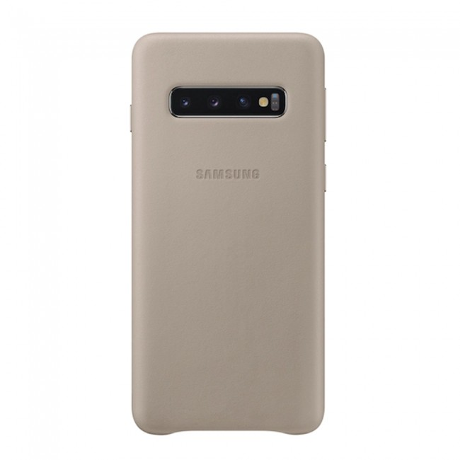 Samsung Galaxy S10 Plus Leather Cover