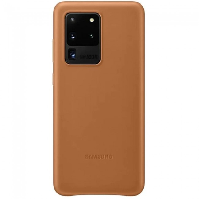 Samsung Galaxy S20 Ultra Leather Cover