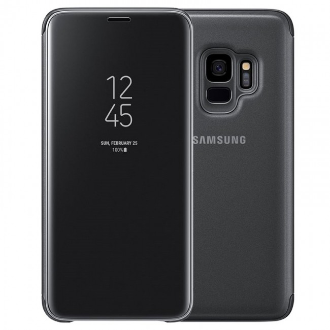 Samsung Galaxy S9 Clear View Standing Cover