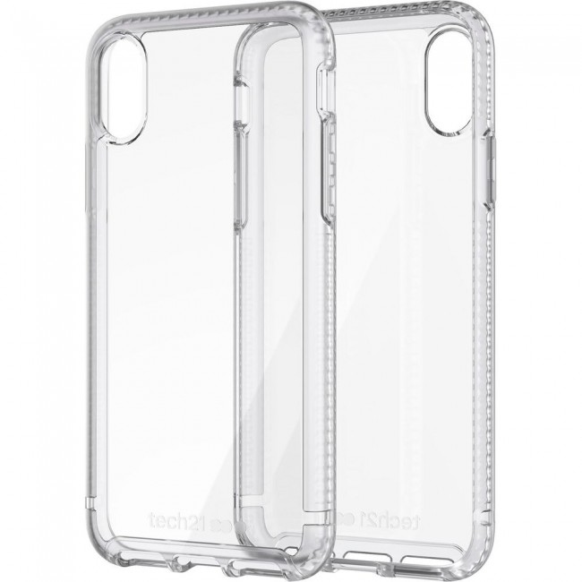 Tech21 Pure Clear Case For iPhone Xs / X
