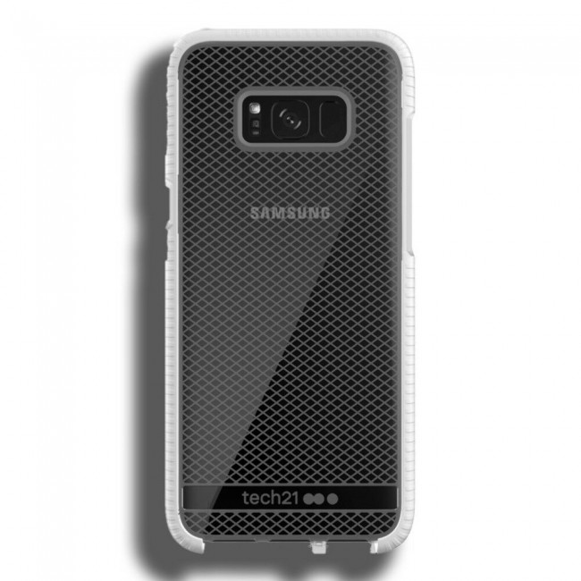 Tech21 Galaxy S8+ Evo Check Case - White