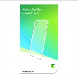 Telstra Combi Case For iPhone XS Max Clear