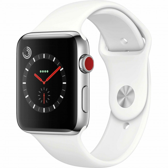 Apple Watch Series 3 GPS + Cellular 38mm Stainless Steel Case [Grade A]