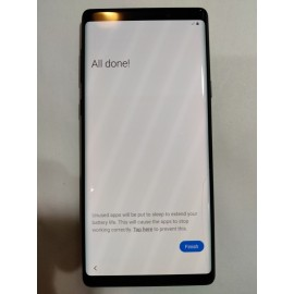 Samsung Galaxy Note 9 128gb Hairline Crack in Screen