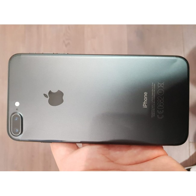 Apple iPhone 7 Plus (128GB) - Matte Black - No Touch ID