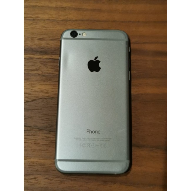 Apple iPhone 6 64GB Space Gray - No finger Print - Home button not working