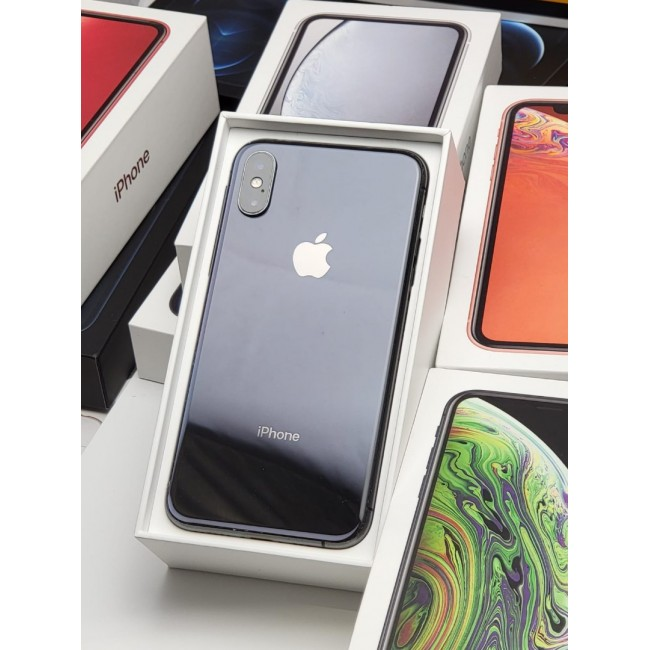 Apple iPhone XS 512GB No Face ID New Battery Installed Excellent Condition Black