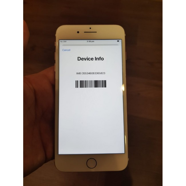 Apple iPhone 7 Plus (128GB) - Rose Gold - No Touch ID
