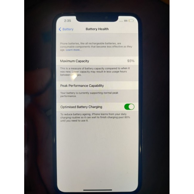 Apple iPhone XS Max 256GB - Space Grey - No Face ID