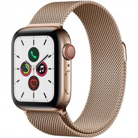 Apple Watch Series 5 GPS Cellular 40mm Stainless Steel Case [Like New]