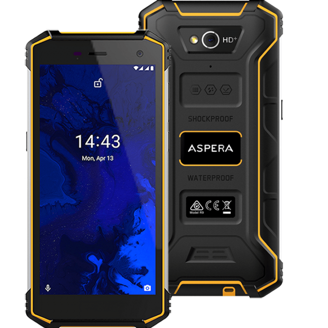 Aspera R9 Dual Sim (32GB) [Open Box]