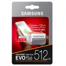 Samsung EVO Plus 512GB MicroSDXC with SD Adapter (Stock Clearance)