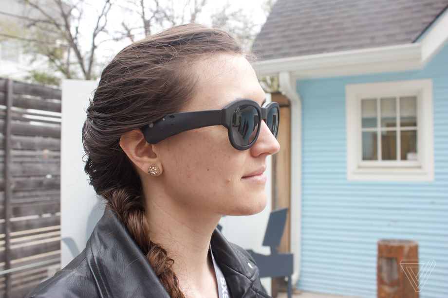 Bose's augmented reality glasses use sound instead of sight