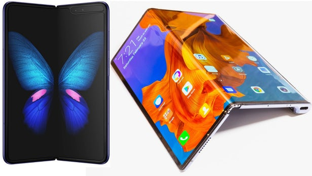 Foldable Smart Phone Trend Game: Samsung Galaxy Fold vs. Huawei Mate X